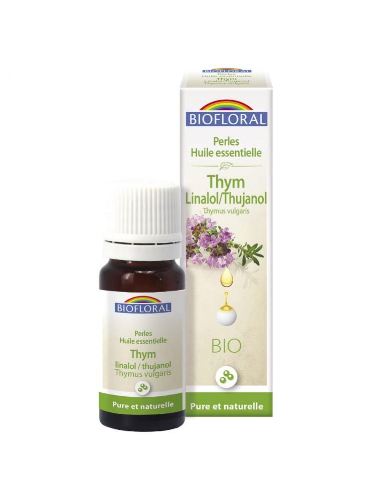 Thym Thujanol Linalol Bio - Perles d'huiles essentielles 20 ml - Biofloral