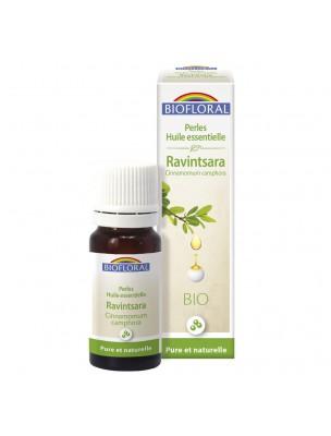 Ravintsara Bio - Perles d'huiles essentielles 20 ml - Biofloral