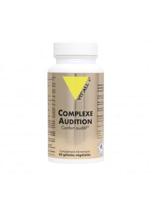 Complexe Audition - Confort auditif 60 gélules végétales - Vit'all+