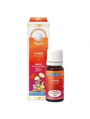 Citron Bio - Perles d'huiles essentielles 20 ml - Biofloral
