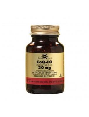 CoQ 10  30mg - Antioxydant 30 gélules végétales - Solgar