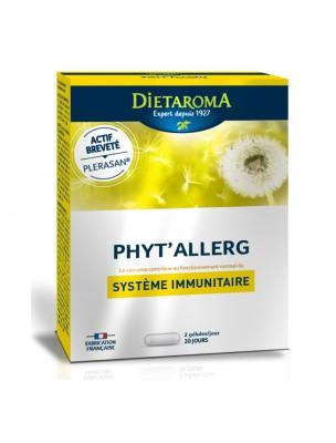 Phyt'allerg - Système immunitaire 40 gélules - Dietaroma