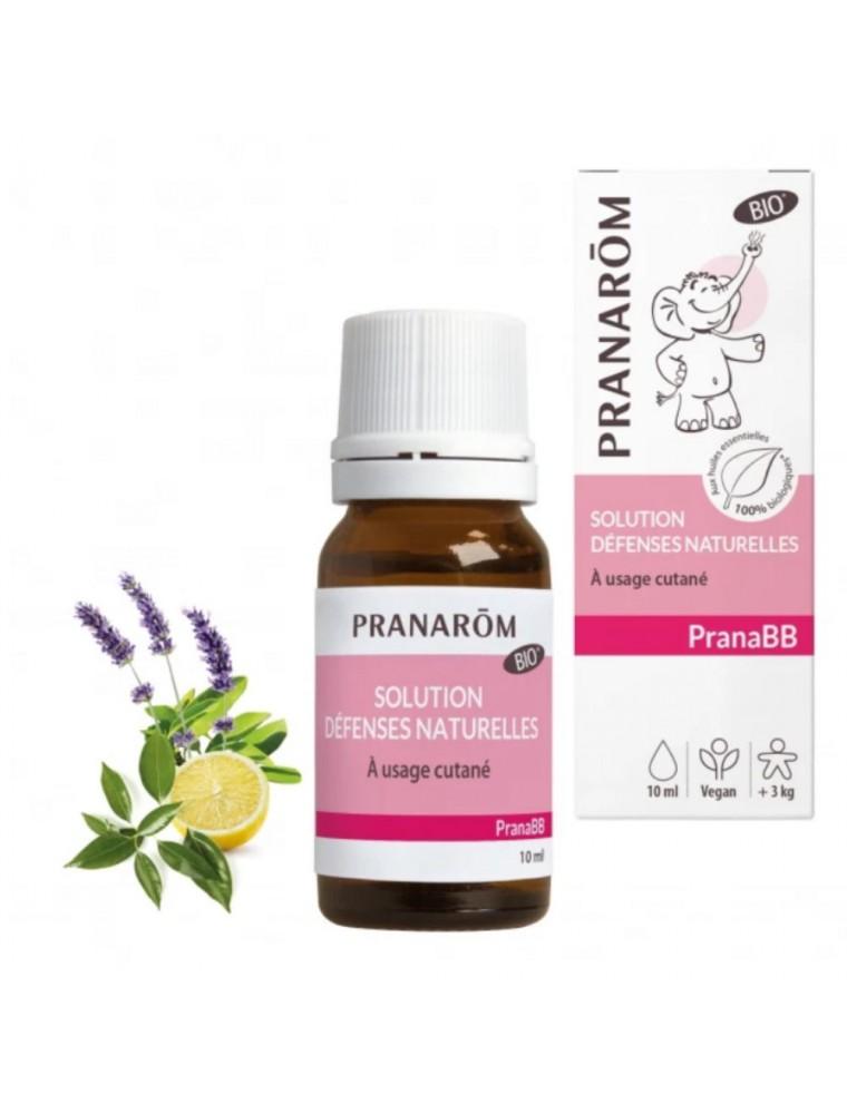 Pranabb Huile de massage - Défenses naturelles des bébés 10 ml - Pranarôm