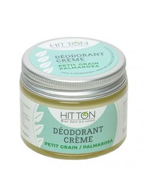 Déodorant crème Bio - Petit grain Palmarosa 50g - Hitton