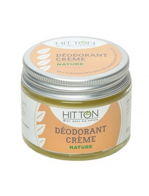 Déodorant crème Bio - Nature 50g - Hitton