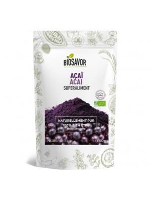 Açai Bio - Superaliment 100g - Biosavor