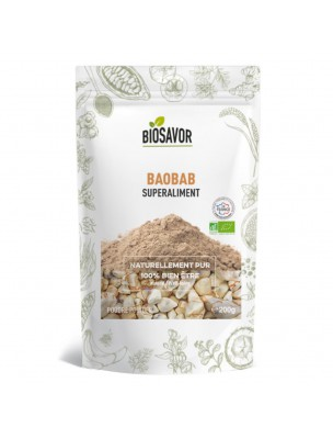Baobab Bio - Superaliment 200g - Biosavor