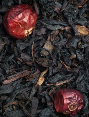 4 fruits rouges Bio - Thé noir à la fraise, à la framboise et au cassis 100g...
