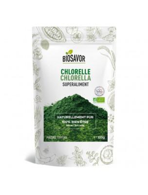 Chlorelle Bio - Superaliment 100g - Biosavor
