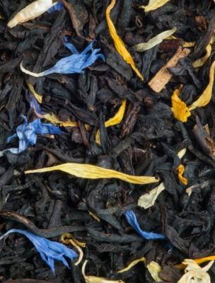 Jardin d'Eden Bio - Thé noir, fruits rouges et fruits jaunes, pétales de...