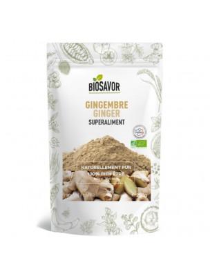 Gingembre Bio - Superaliment 200g - Biosavor