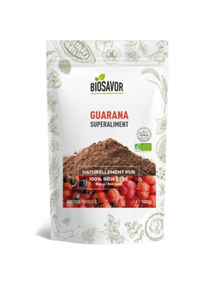 Guarana Bio - Superaliment 100g - Biosavor