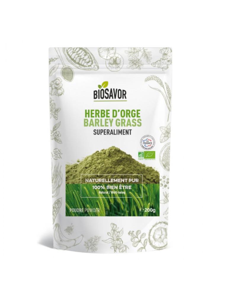 Herbe d'Orge Bio - Superaliment 200g - Biosavor