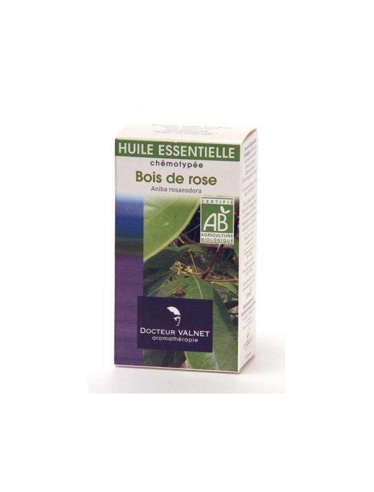 Bois de Rose Bio - Aniba rosaeodora 10ml - Docteur Valnet