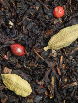 Stendhal Bio - Thé noir fruits rouges et épices 100 g - L'Autre Thé
