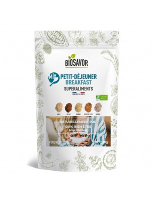 Mix Petit déjeuner Bio - Superaliment 200g - Biosavor