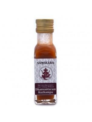 Dhanvantaram Kuzhampu - Huile Ayurvédique 100 ml - Samskara