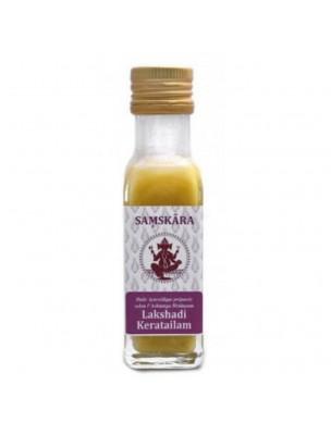 Lakshadi Keratailam - Huile Ayurvédique 100 ml - Samskara