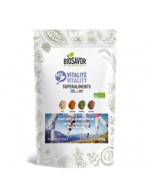 Mix Vitalité Bio - Superaliment 200g - Biosavor
