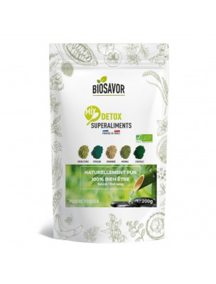 Mix Détox Bio - Superaliment 200g - Biosavor