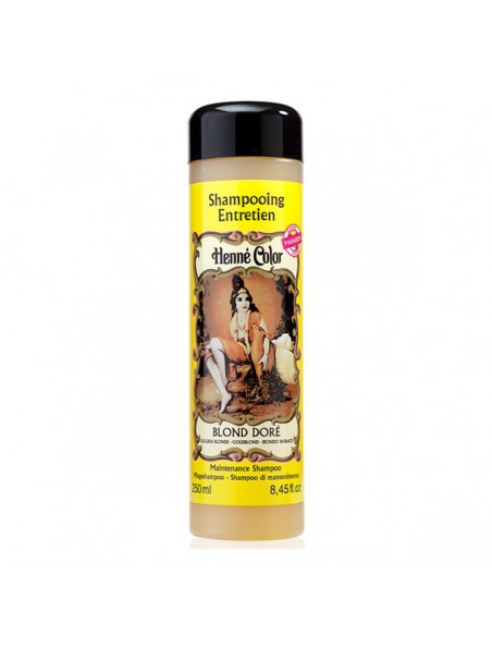 Shampoing pour henné Blond doré - 250 ml - Henné color