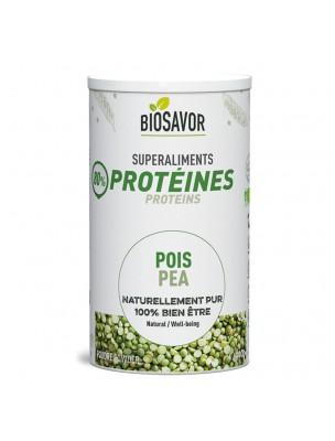 Pois Bio - Protéines végétales 400g - Biosavor