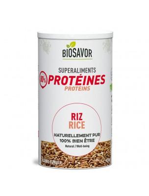 Riz Bio - Protéines végétales 400g - Biosavor