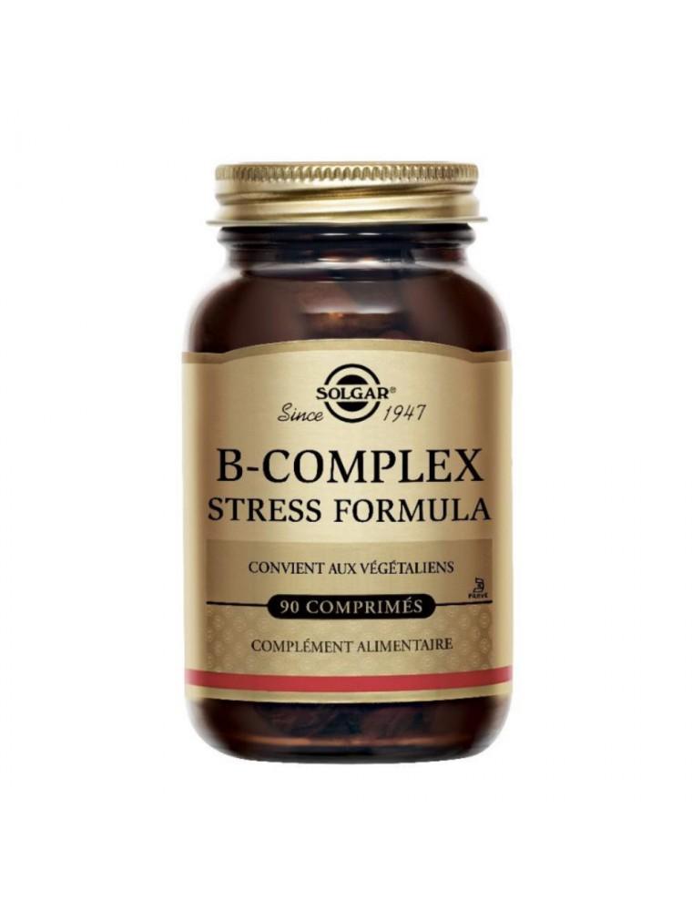 B-Complex Stress Formula - Stress et Fatigue 90 comprimés - Solgar