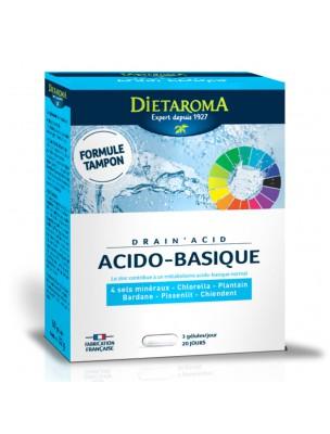 Drain'Acid - Drainage 60 gélules - Dietaroma