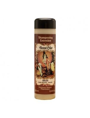 Shampoing pour henné Brun - 250 ml - Henné color