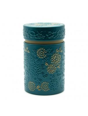 Boite à thé Yumiko Turquoise pour 150 g de thé