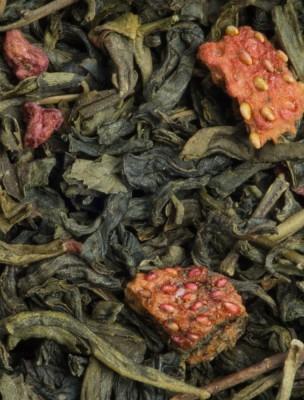Balade gourmande bio Thé noir vert aux fruits rouges 100g - L'Autre Thé