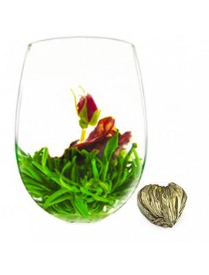 Fleur de Fraise Fleur de thés - Oeillet, Rose, Thé blanc et arôme fraise