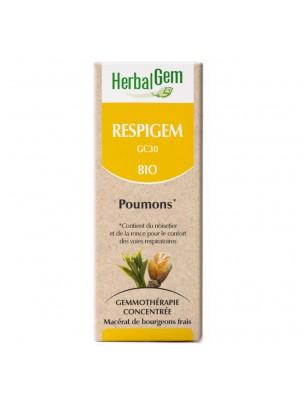 RespiGEM Bio GC30 - Poumons 50 ml - Herbalgem
