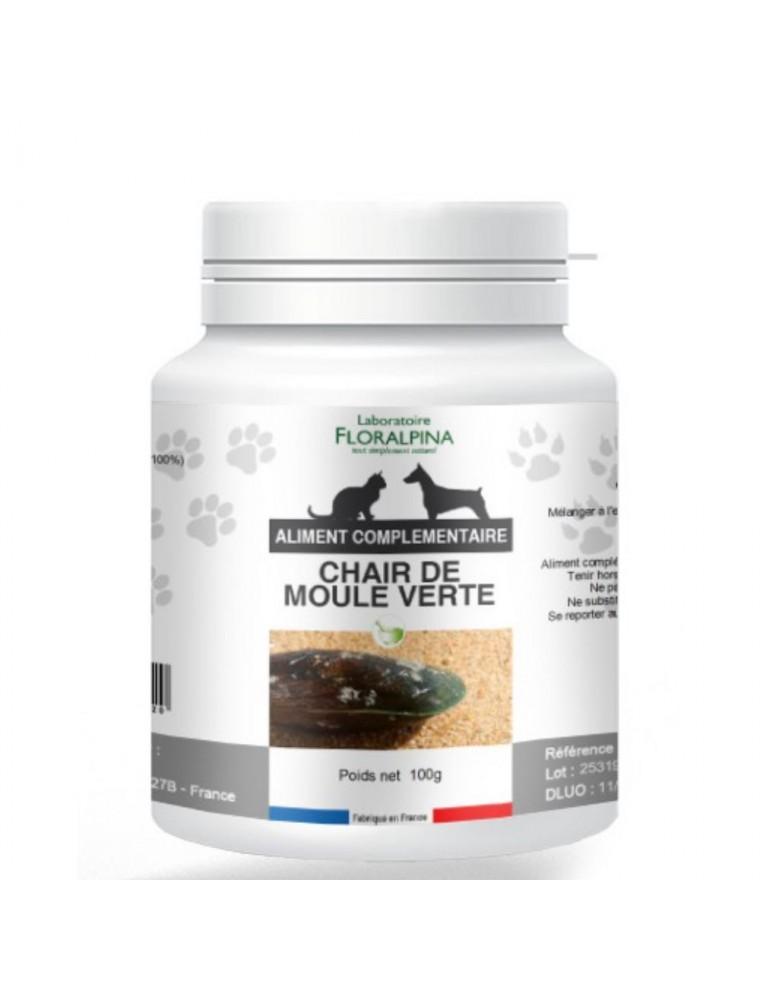 Chair de Moule Verte - Articulations Chiens et Chats 100g - Floralpina
