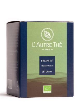 Breakfast Bio - Thés noirs Assam et Ceylan 20 sachets pyramide - L'autre thé
