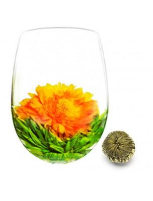 Fleur de Mangue Fleur de thés - Thé blanc, Fleur de Souci et Mangue