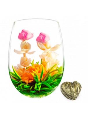 Coeur de Rose Fleur de thés - Thé blanc, Jasmin, Rose et Fleur de Souci