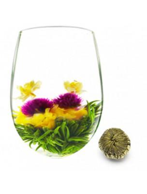 Yin and Yang Fleur de thés - Thé blanc, Jasmin, Amarante et Fleur de Souci