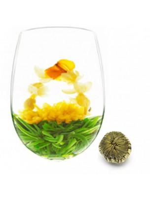 Muraille de Chine Fleur de thés - Thé blanc, Chrysanthème,  Jasmin et Fleur de Lys