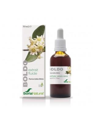 Boldo XXI - Extrait Fluide de Peumus boldus molina 50ml - SoriaNatural
