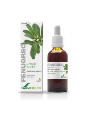 Fenugrec XXI - Extrait Fluide de Trigonella foenum-graecum L. 50ml - SoriaNatural