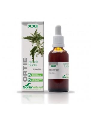 Ortie XXI - Extrait Fluide d'Urtica dioica L. 50ml - SoriaNatural