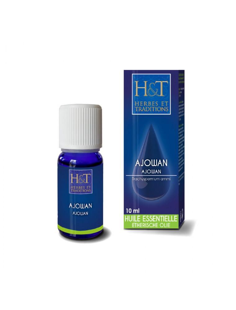 Ajowan - Huile essentielle de Trachyspermum ammi 10 ml - Herbes et Traditions