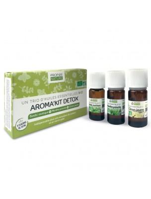 Aroma'Kit Détox Bio - Trio d'huiles essentielles - Propos Nature