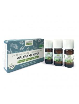 Aroma'Kit Hiver Bio - Trio d'huiles essentielles - Propos Nature