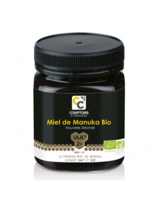 Miel de Manuka 2+ Bio - MGO 19 250g - Comptoirs et Compagnies
