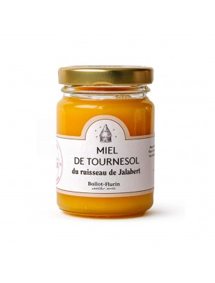 Miel de Tournesol Bio 125g - Saveur douce et fruitée, circulation - Ballot-Flurin