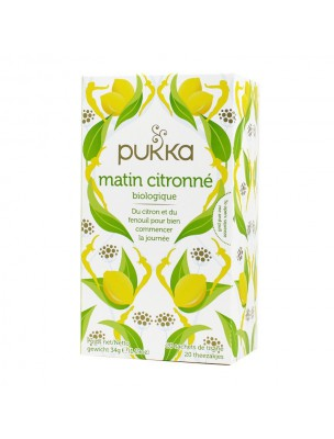 Matin Citronné Bio - Infusion 20 sachets - Pukka Herbs