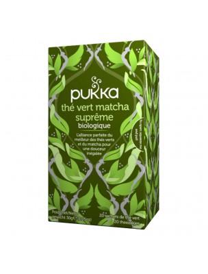 Thé vert Matcha Suprême Bio - Thé vert 20 sachets - Pukka Herbs